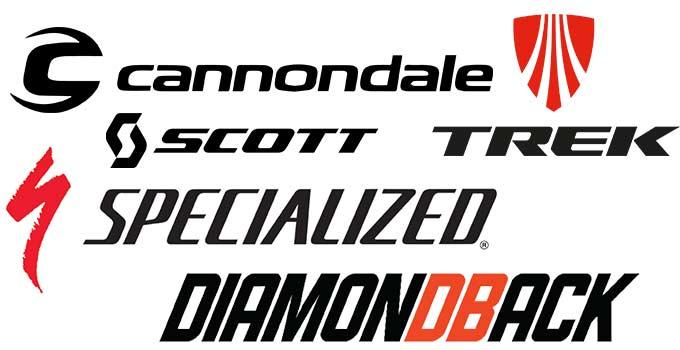 mountain bike brand logos