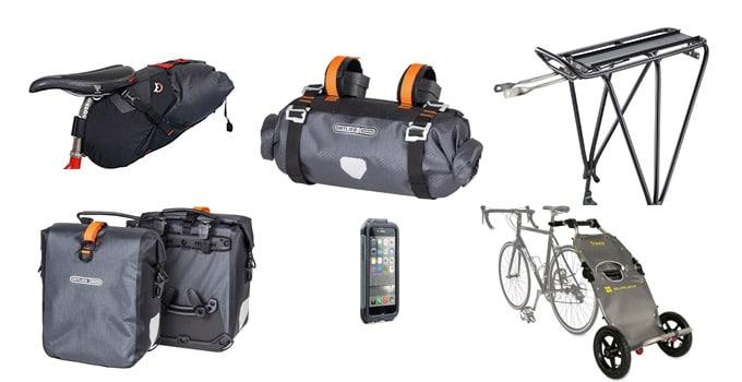 mountain bike travel bags, racks and gear