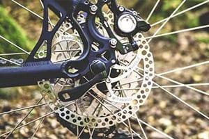 mountain bike gear close up