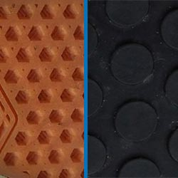 skate shoe outsole pattern vs mtb shoe
