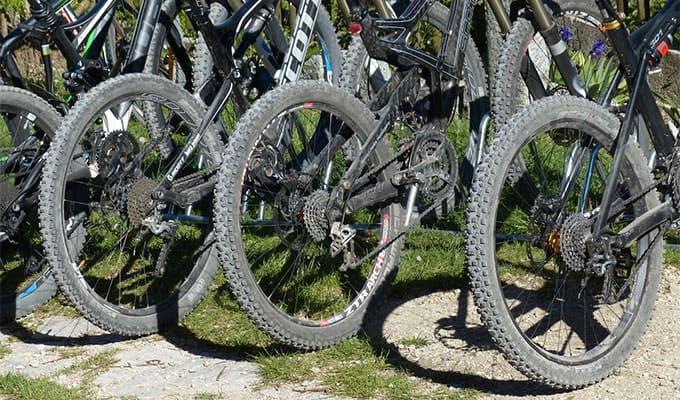 secondhand mountain bikes