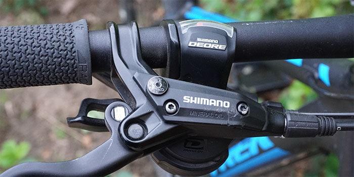 shimano XT shifter trek suppafly mtb bike