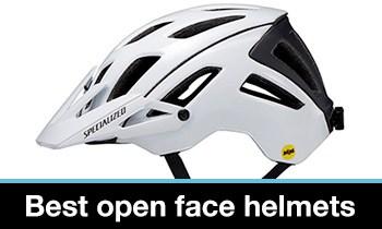 best open face MTB helmet