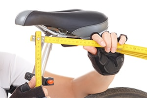 bike saddle seat measurement