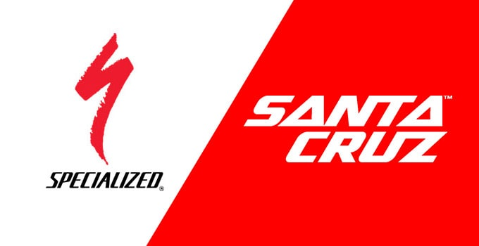 Specialized vs Santa Cruz bikes