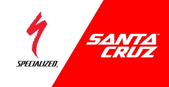 Specialized vs Santa Cruz bikes