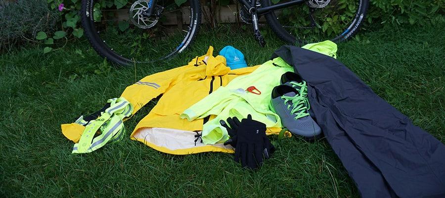 gear for biking in the rain