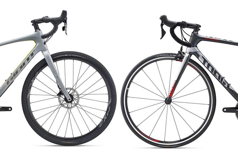 road bike vs gravel bike