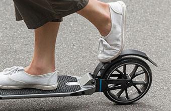 kick scooter braking system